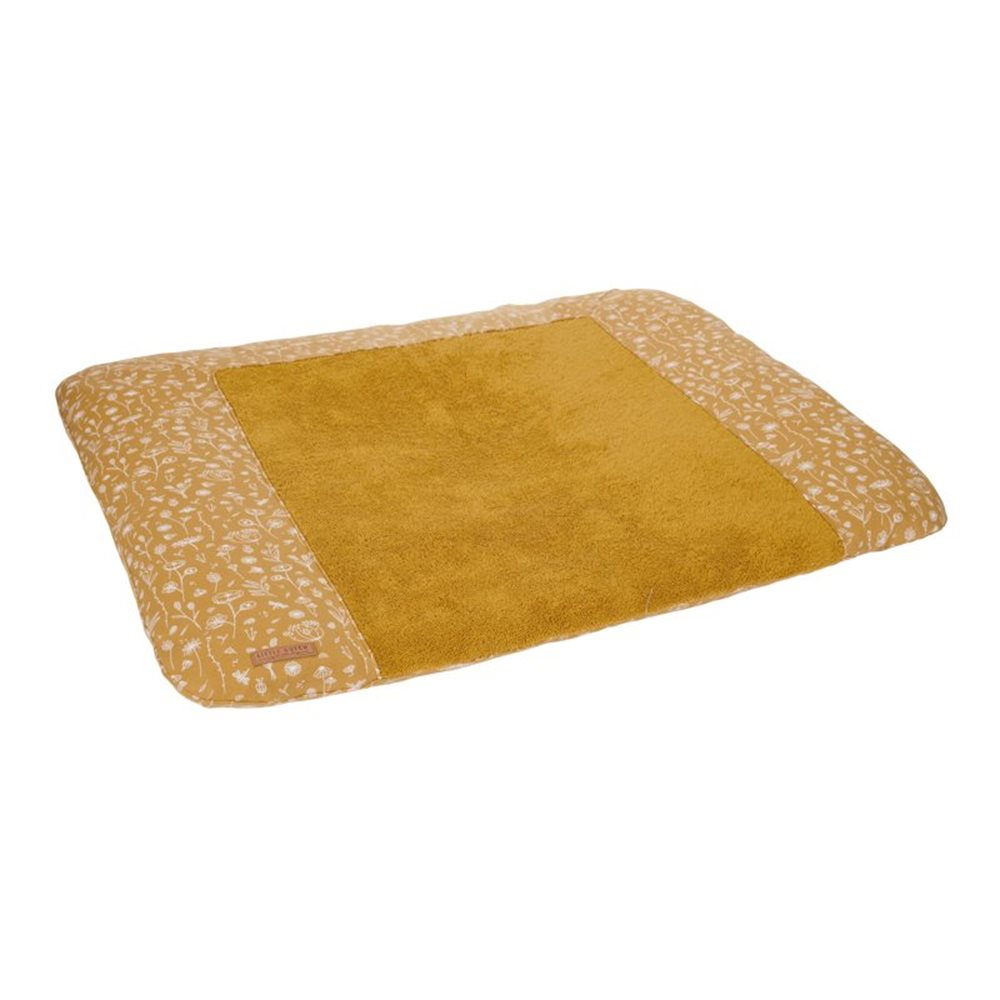 Picture of Changing mat cover Germany Wild Flowers Ochre