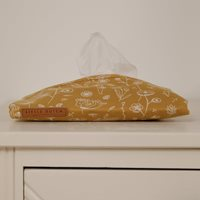 Picture of Baby wipes cover Wild Flowers Ochre