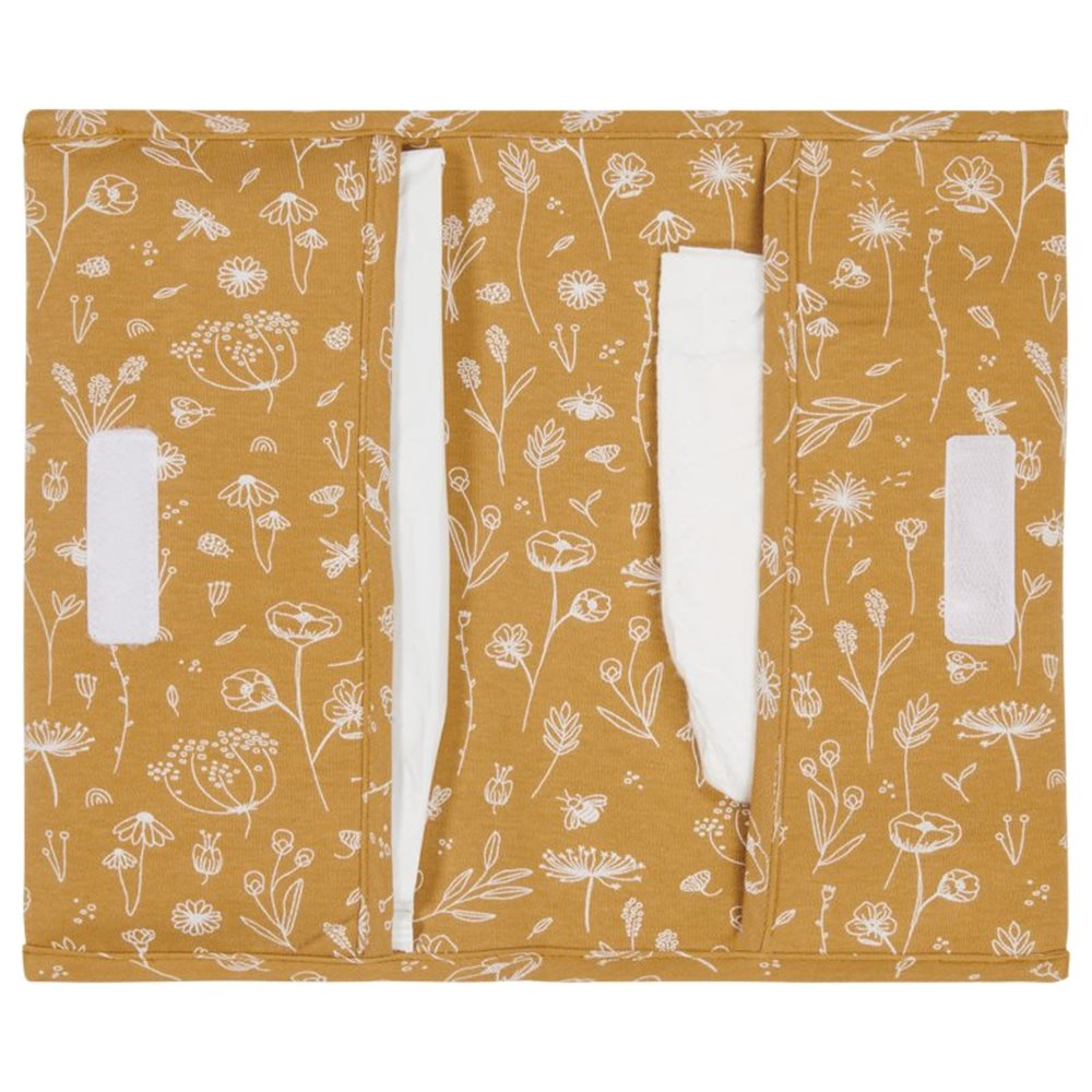 Picture of Nappy pouch Wild Flowers Ochre