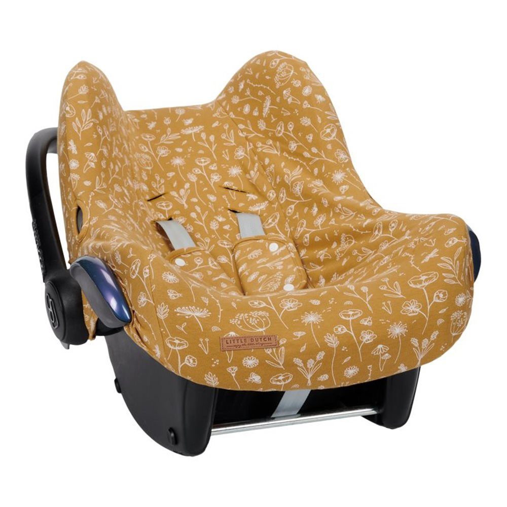 Picture of Car seat 0+ cover Wild Flowers Ochre