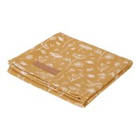 Picture of Swaddles 120 x 120 Wild Flowers Ochre / Pure Ochre