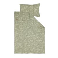 Picture of Cot duvet cover Wild Flowers Olive