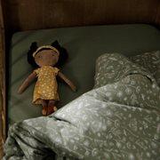 Kinderbettbezug Wild Flowers Olive
