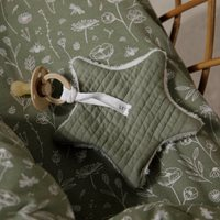 Picture of Bassinet duvet cover Wild Flowers Olive