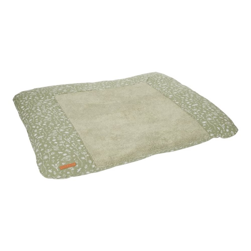 Picture of Changing mat cover Germany Wild Flowers Olive
