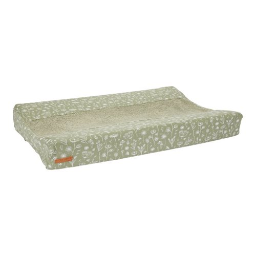 Picture of Changing mat cover Wild Flowers Olive