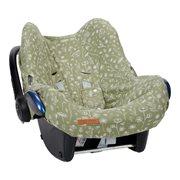 Housse de protection pour siège-auto 0+ Wild Flowers Olive