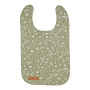 Picture of Bib Wild Flowers Olive