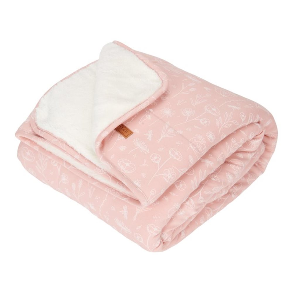 Picture of Cot blanket Wild Flowers Pink