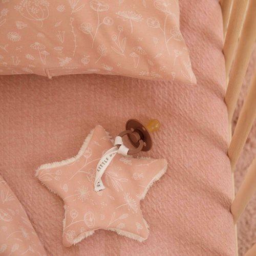 Kinderbettbezug Wild Flowers Pink