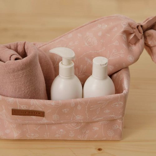 Picture of Hot-water bottle cover Wild Flowers Pink