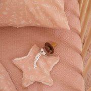 Schnullertuch Wild Flowers Pink