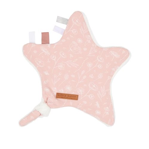 Picture of Cuddle cloth, star Wild Flowers Pink
