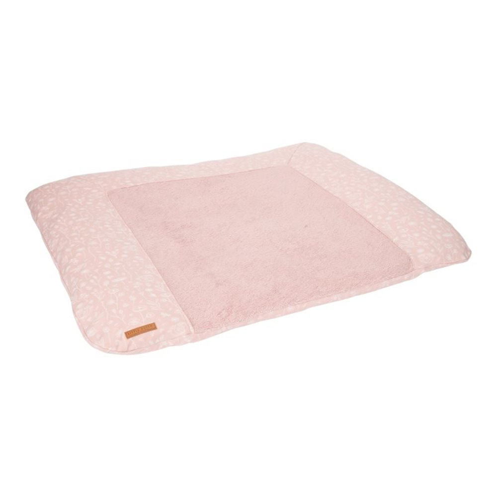 Picture of Changing mat cover Germany Wild Flowers Pink
