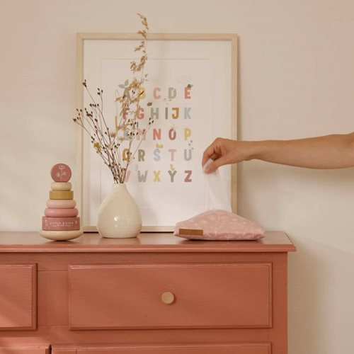 Picture of Baby wipes cover Wild Flowers Pink