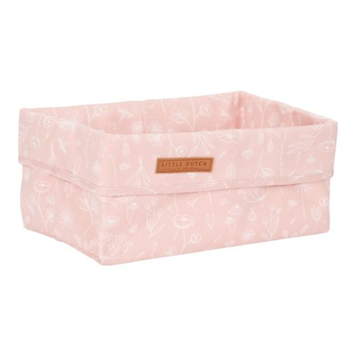 Picture of Storage basket, large Wild Flowers Pink