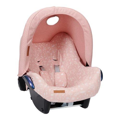 Afbeelding van Hoes autostoeltje 0+ Wild Flowers Pink