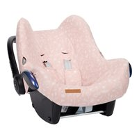 Picture of Car seat 0+ cover Wild Flowers Pink