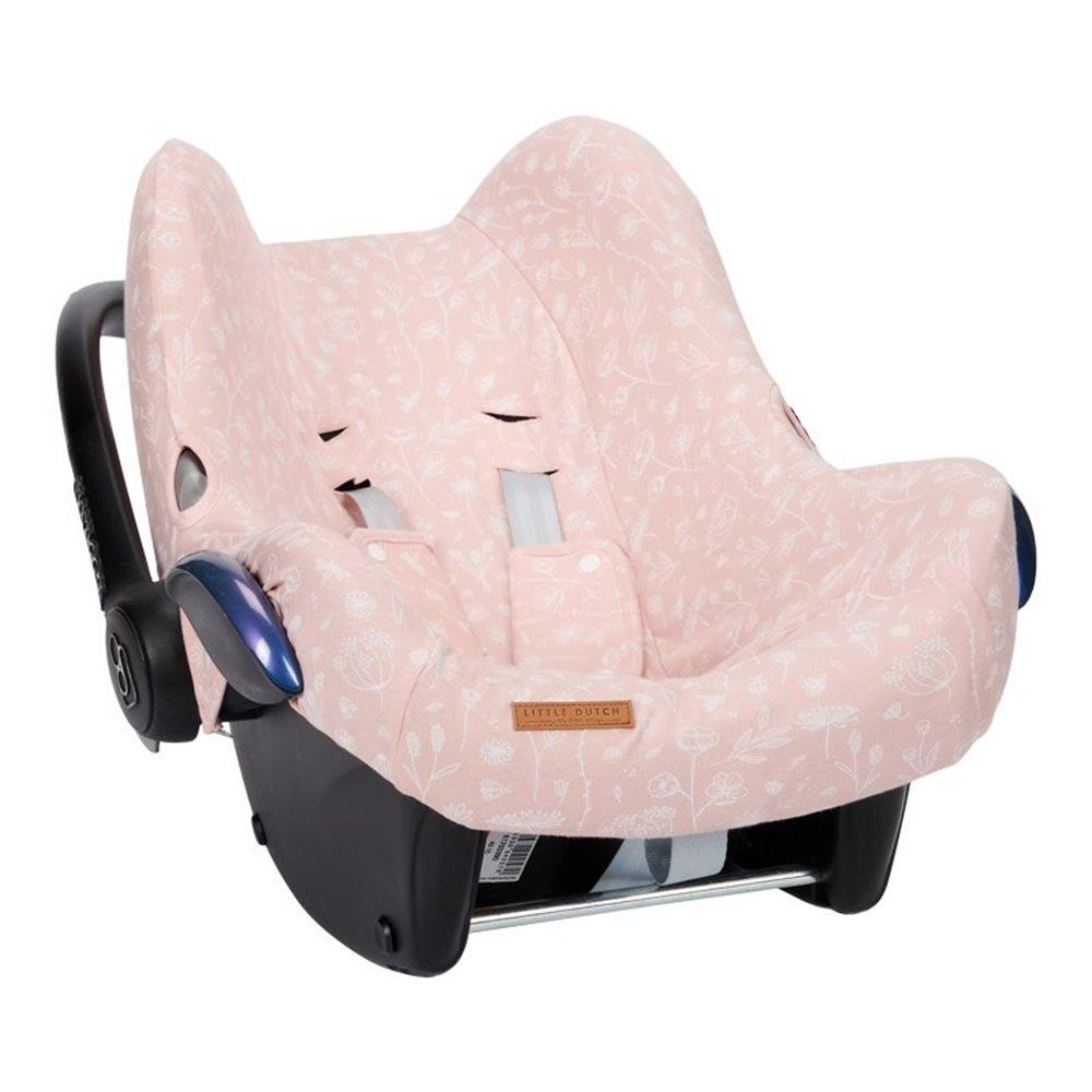 Housse de protection pour siège-auto 0+ Wild Flowers Pink