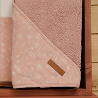Picture of Hooded towel Wild Flowers Pink