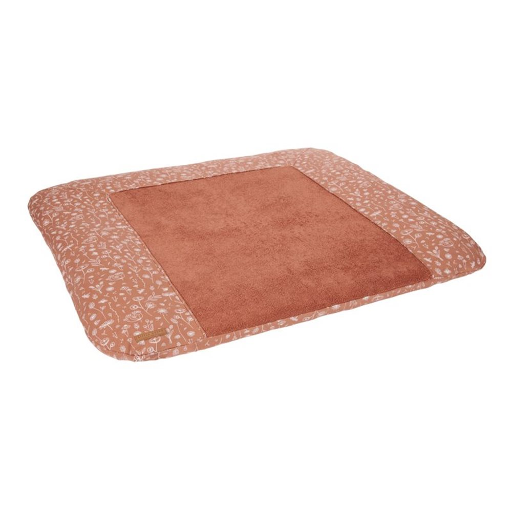 Picture of Changing mat cover Germany Wild Flowers Rust