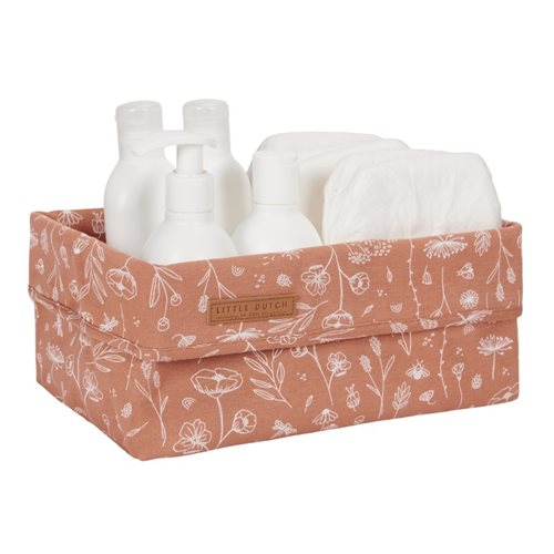 Panier de toilette grand Wild Flowers Rust