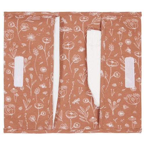 Picture of Nappy pouch Wild Flowers Rust