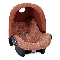 Picture of Car seat 0+ cover Wild Flowers Rust