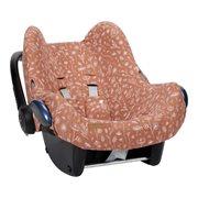 Afbeelding van Hoes autostoeltje 0+ Wild Flowers Rust