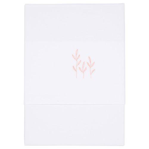 Afbeelding van Ledikantlaken Wild Flowers Pink geborduurd