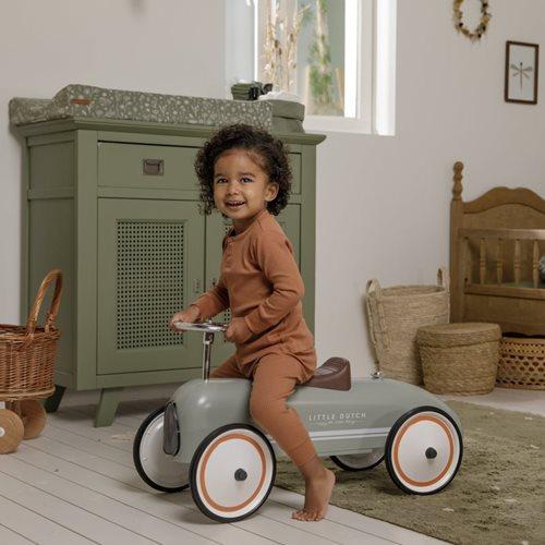 Retro Roller Laufauto - Olive