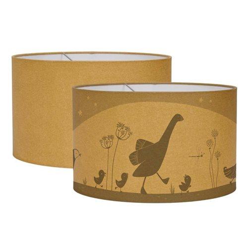 Abat-jour Silhouette Little Goose Ochre
