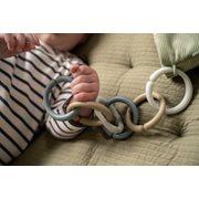 Afbeelding van Little Loops Speelgoedringen Blauw
