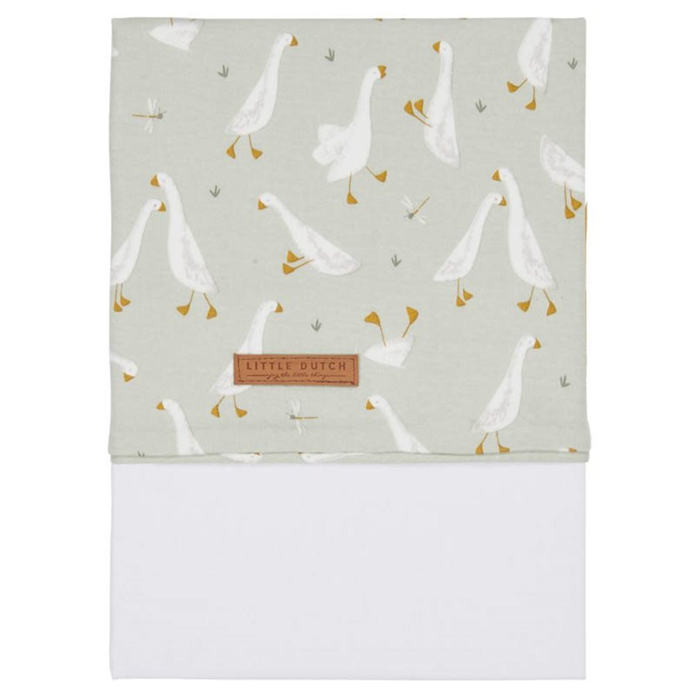 Picture of Cot sheet Little Goose