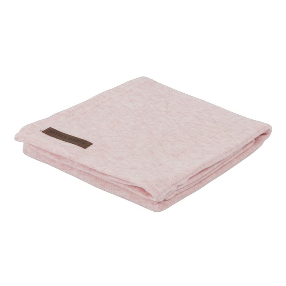Picture of Swaddle 120 x 120 Peach Melange