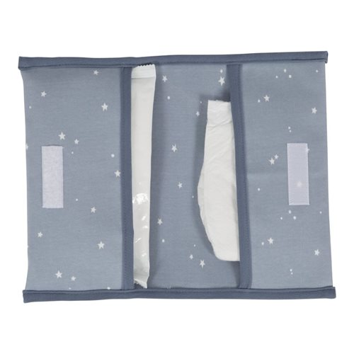 Picture of Nappy pouch Little Stars Blue