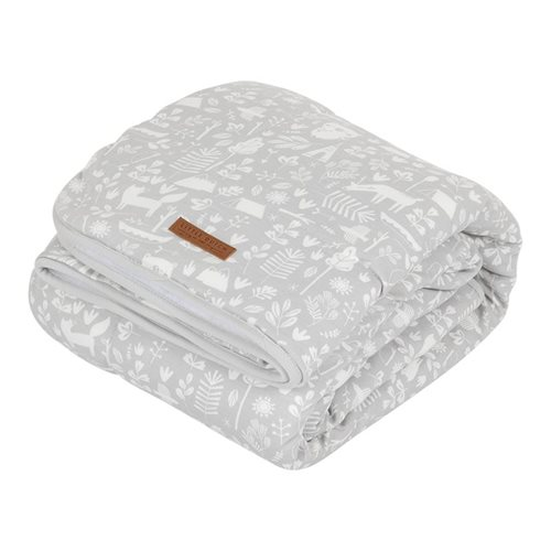Picture of Cot sheet Adventure Grey