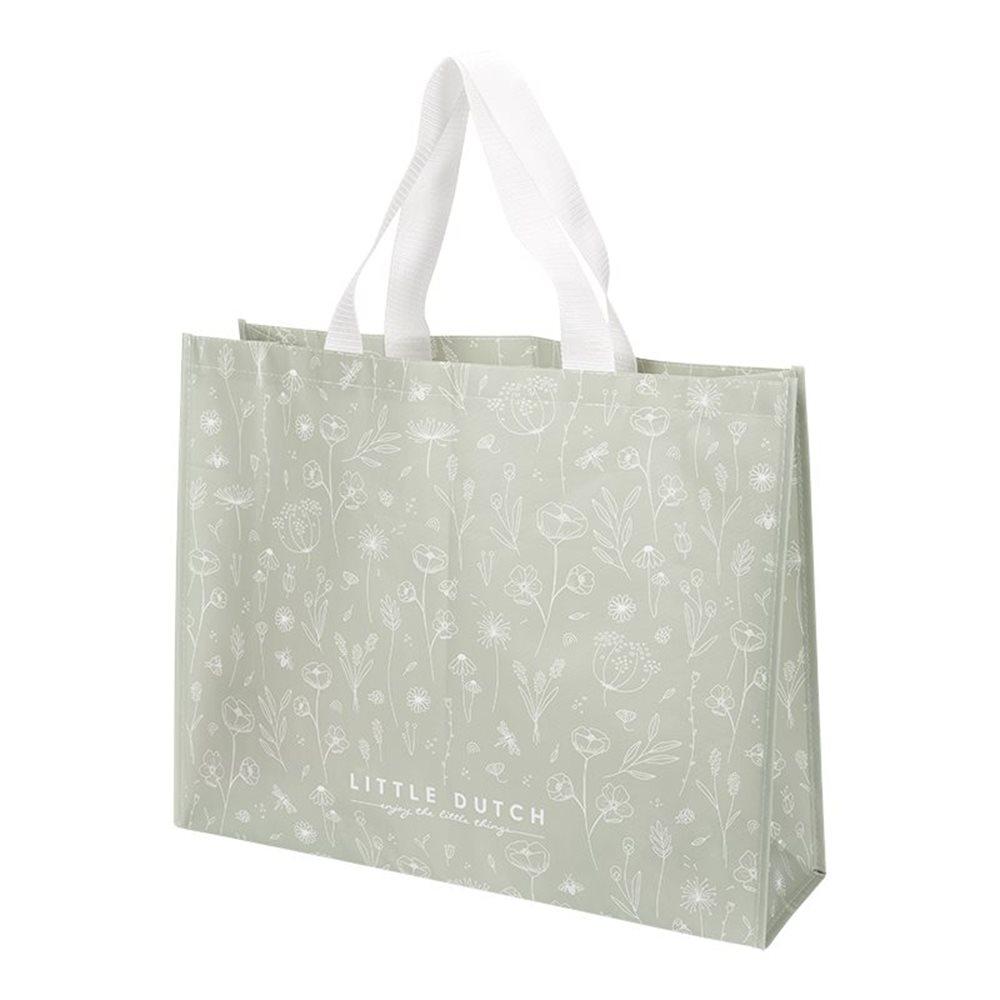 Shopper Wild Flowers Olive
