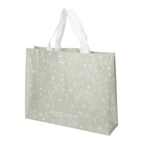 Shopper Wild Flowers Olive