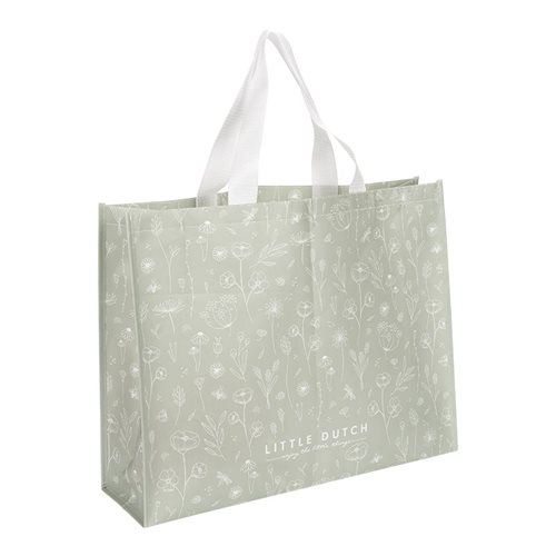 Picture of Shopper Wild Flowers Olive
