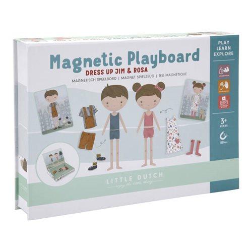 Afbeelding van Magnetisch speelbord Rosa en Jim