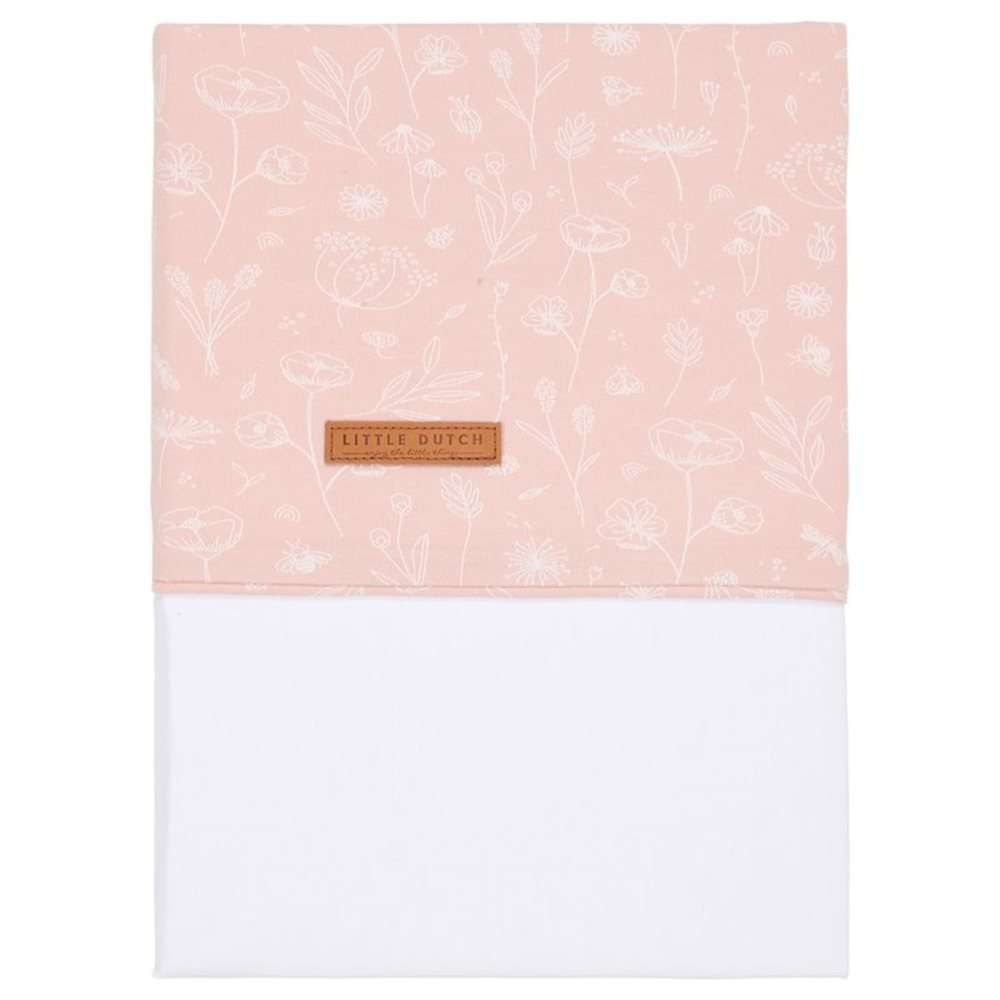 Picture of Bassinet sheet Wild Flowers Pink