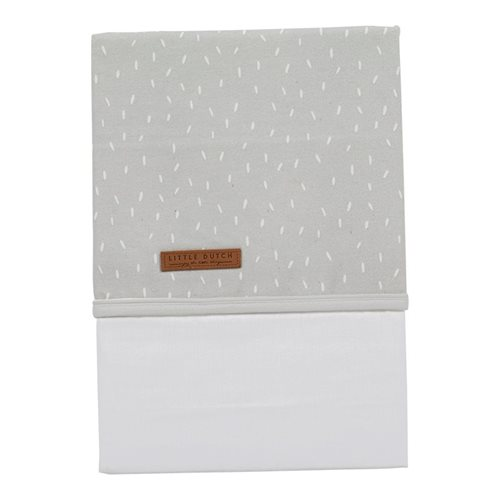 Picture of Cot sheet Grey Sprinkles