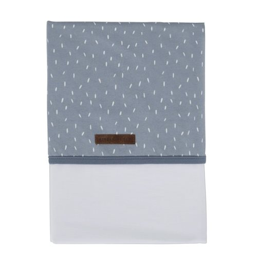 Picture of Cot sheet Blue Sprinkles