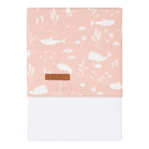 Wiegelaken Ocean Pink
