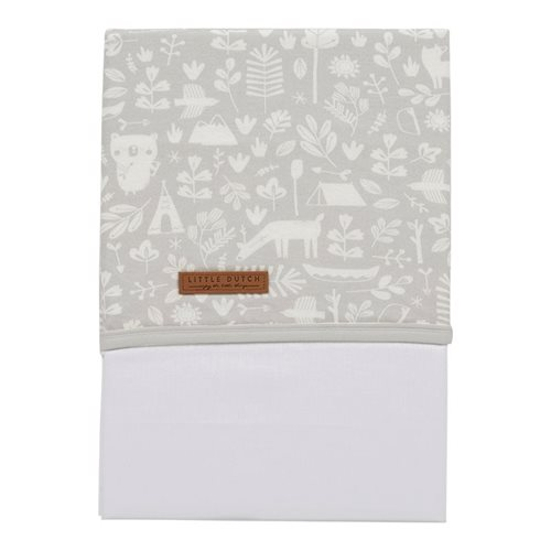 Picture of Bassinet sheet Adventure Grey