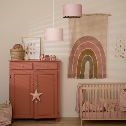 Abat-jour Silhouette Little Goose Pink