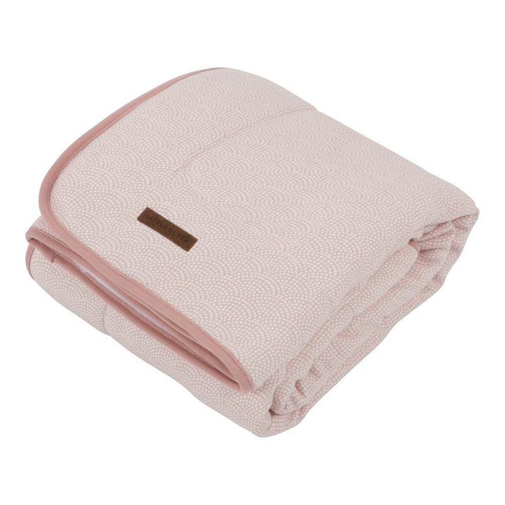 Couverture de lit bébé pink Waves