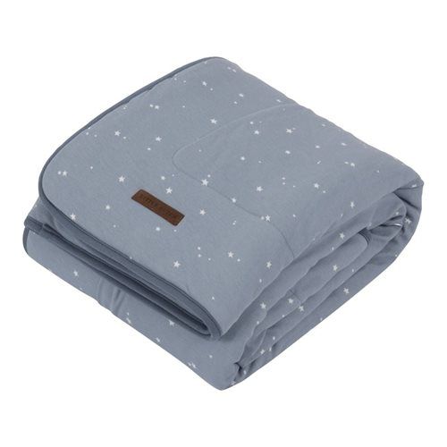 Picture of Cot blanket Little Stars blue