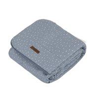 Picture of Cot blanket blue Sprinkles